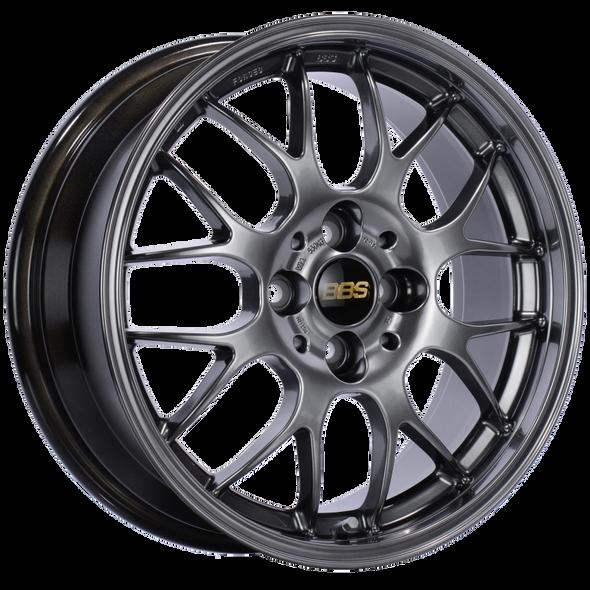 BBS RG-R 17x8.5 5x114.3 ET55 Diamond Black Wheel (11.3mm Valve Stems) -82mm PFS/Clip Required