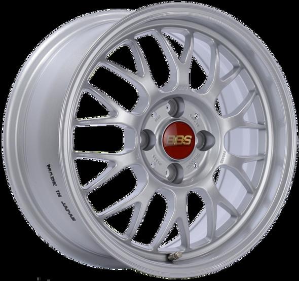 BBS RG-F 15x7 4x100 ET33 Sport Silver Wheel -70mm PFS/Clip Required