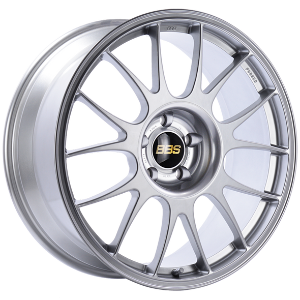 BBS RE 18x7.5 5x114.3 ET45 Diamond Silver Wheel -82mm PFS/Clip Required