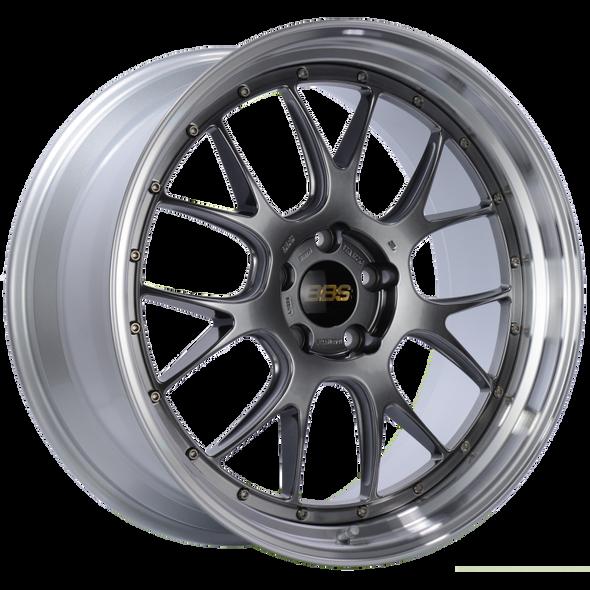 BBS LM-R 21x10 5x120 ET35 Diamond Black Center Diamond Cut Lip Wheel -82mm PFS/Clip Required