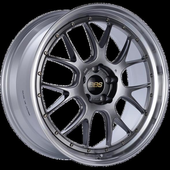 BBS LM-R 21x9 5x120 ET32 Diamond Black Center Diamond Cut Lip Wheel -82mm PFS/Clip Required