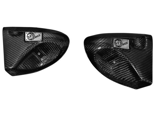 aFe Magnum FORCE Intake System Carbon Fiber Scoops BMW M5 (F10) 12-14 V8-4.4L (tt)