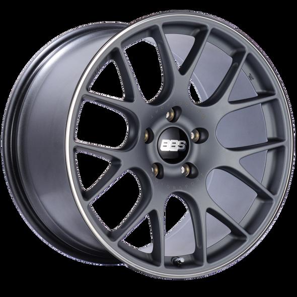 BBS CH-R 20x11.5 5x130 ET47 CB71.6 Satin Titanium Polished Rim Protector Wheel