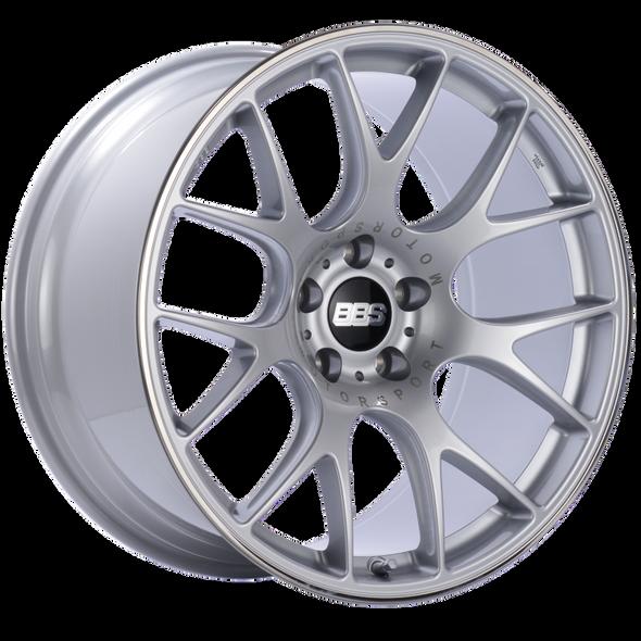 BBS CH-R 20x10.5 5x115 ET25 CB71.4 Diamond Silver Polished Rim Protector Wheel