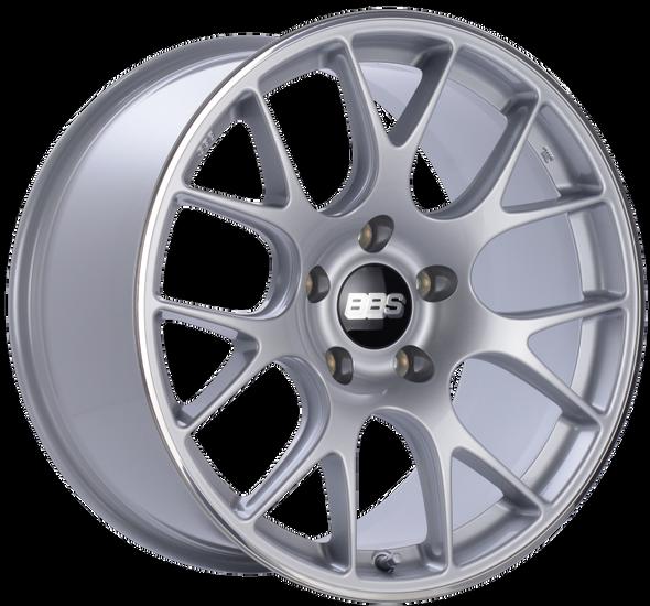 BBS CH-R 19x11 5x130 ET56 CB71.6 Brilliant Silver Polished Rim Protector Wheel