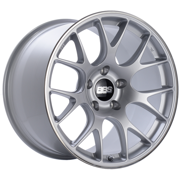 BBS CH-R 19x12 5x130 ET45 CB71.6 Brilliant Silver Polished Rim Protector Wheel
