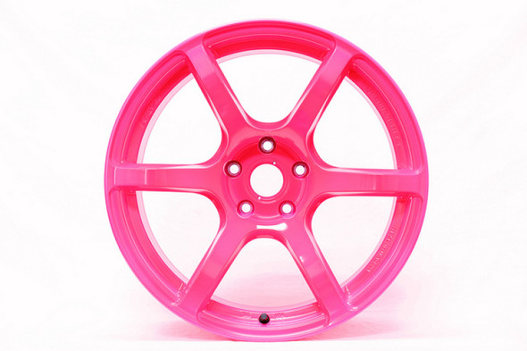 Gram Lights 57C6 17x9 +40 5-100 Luminous Pink