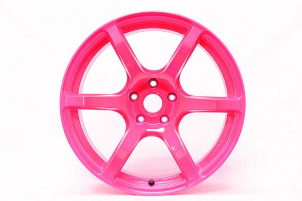Gram Lights 57C6 17x9 +38 5-114.3 Luminious Pink