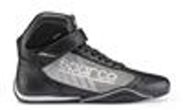 Sparco Shoe Omega KB6 38 Blk/Sil