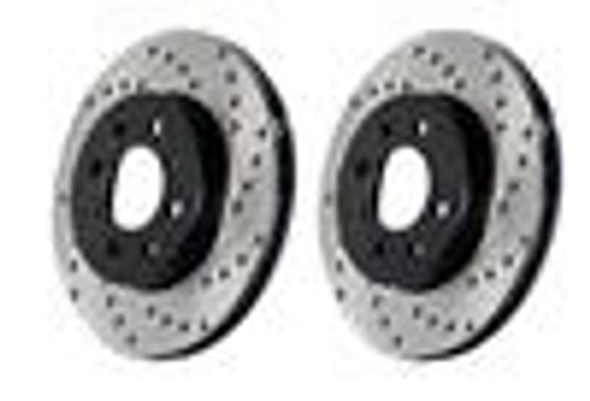 Centric 05-09 Mercedes CLS55/CLS63 / 03-09 E55/E63 Rear Drilled OE Design Brake Rotors