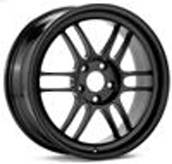 Enkei RPF1 14x7 4x100 19mm Offset 54mm Bore Matte Black Wheel (Min Order of 40)