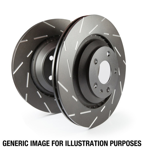 EBC 00-01 Ford Expedition 4.6 2WD USR Slotted Front Rotors
