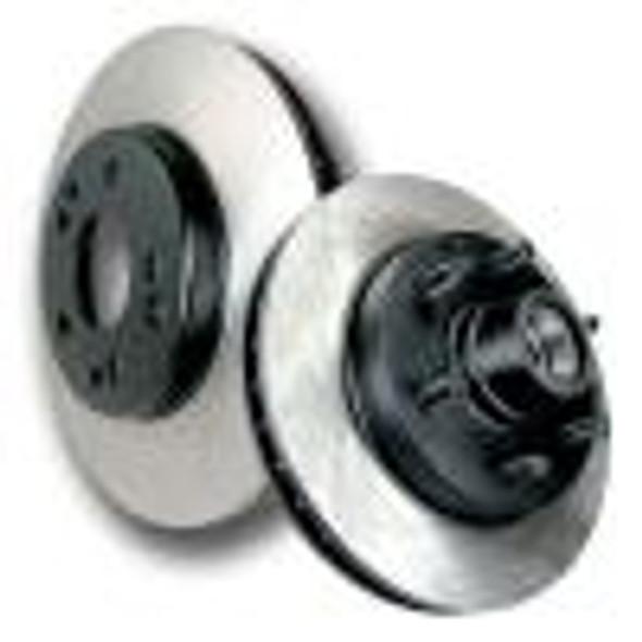 Centric 07-09 Dodge Caliber/SRT-4 SE/SXT 1.8L/2.0L Rear Drum Front Premium Rotors