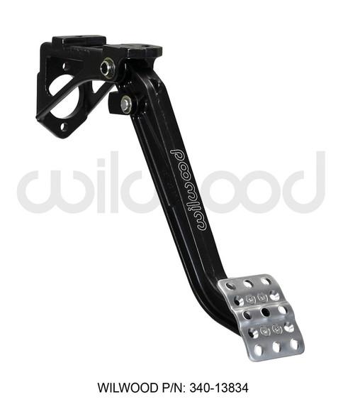 Wilwood Adjustable Single Pedal - Swing Mount - 7:1