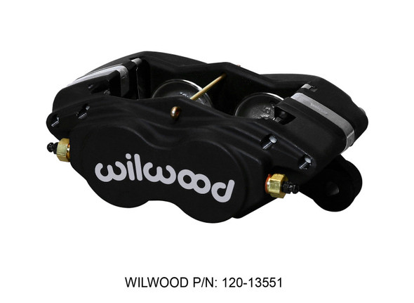 Wilwood Caliper-Forged Dynalite-M 1.75in Pistons 1.00in Disc