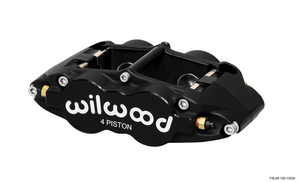 Wilwood Caliper-Forged Superlite 4R 1.12/1.12in Pistons 0.81in Disc