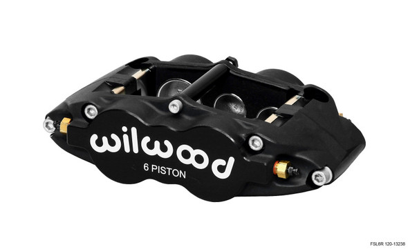 Wilwood Caliper-Forged Superlite 6R-L/H 1.62/1.12/1.12in Pistons 0.81in Disc