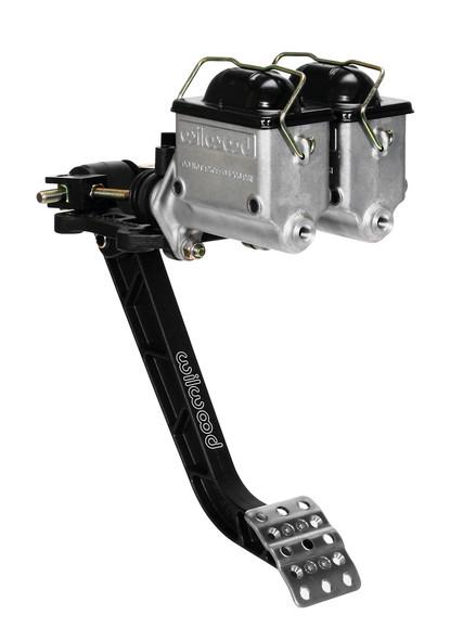 Wilwood Adjustable Brake Pedal - Dual MC - Rev. Swing Mount - 6.25:1