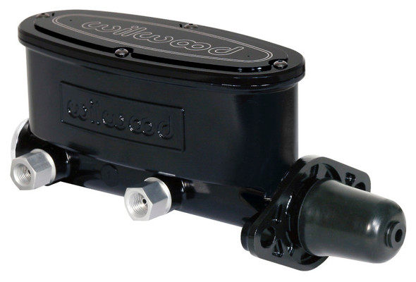 Wilwood High Volume Tandem Master Cylinder - 1 1/8in Bore Black