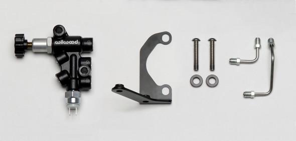 Wilwood Tandem Master Cylinder Mounting Bracket L/H Kit w/ Prop Valve