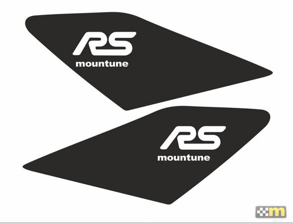 mountune 16-18 Ford Focus RS Dynamic Wing Splash