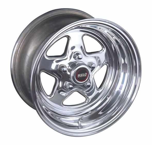 Weld ProStar 15x8 / 5x4.5 BP / 5.5in. BS Polished Wheel - Non-Beadlock