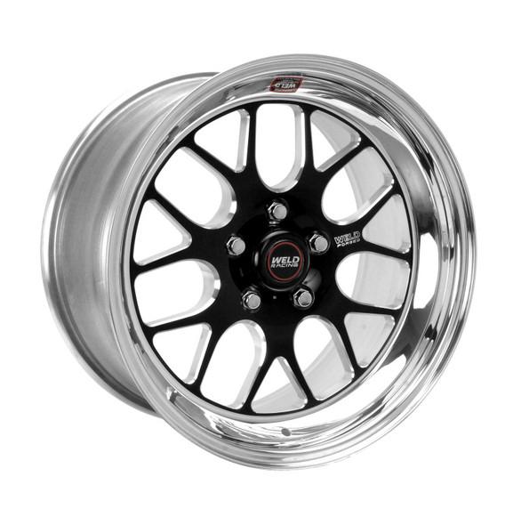Weld S77 17x10 / 5x4.5 BP / 7.9in. BS Black Wheel (Low Pad) - Non-Beadlock