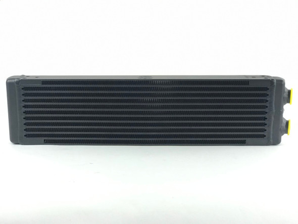 CSF Universal Dual-Pass Oil Cooler (RS Style) - M22 x 1.5 - 24in L x 5.75in H x 2.16in W