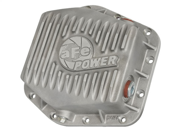 aFe Power Rear Differential Cover (Machined Raw) 15-17 GM Colorado/Canyon 12 Bolt Axles