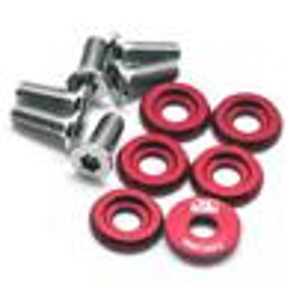BLOX Racing Large Diameter Fender Washers - Red