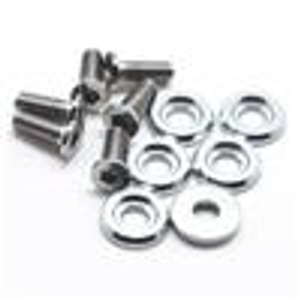 BLOX Racing Large Diameter Fender Washers - Silver