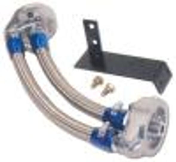 GReddy 89-94 Nissan Skyline GTR Oil Filter Reclocation Kit