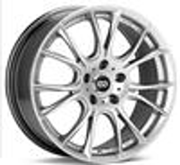 Enkei Ammodo 17x7.5 45mm Offset 5x100 Bolt Pattern 72.6 Bore Diameter Hyper Silver Wheel