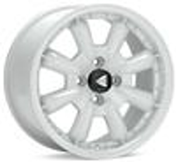 Enkei Compe 15x8 0mm Offset 4x114.3 Bolt Pattern 72.6mm Bore Dia White Wheel