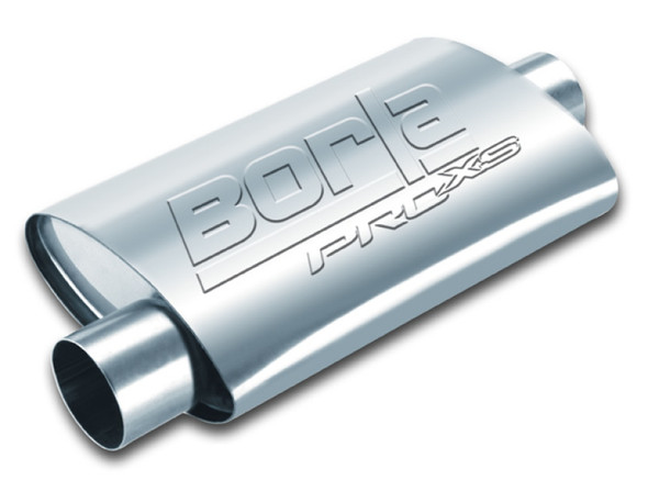 Borla 2.5in Inlet/Outlet Center/Offset Oval ProXS Muffler