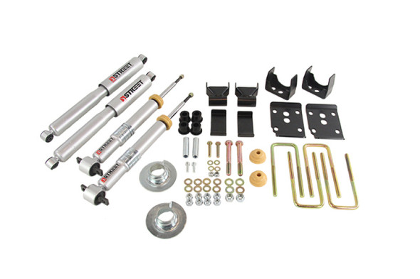 Belltech 2015+ Ford F-150 1-3in Front 5in Rear Lower Kit with SP Shocks