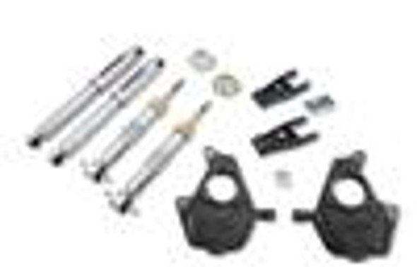 Belltech 09-13 Ford F150 Ext&Quad Cab Short Bed 2WD Lowering Kit w/ SP Shocks 5.5in R Drop