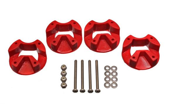 Energy Suspension 03-05 Dodge SRT4 Red Motor Mount Inserts