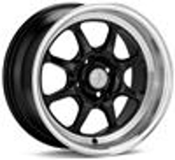 Enkei J-Speed Classic Line 15x7 38mm Offset 4x100 Bolt Pattern Black Wheel