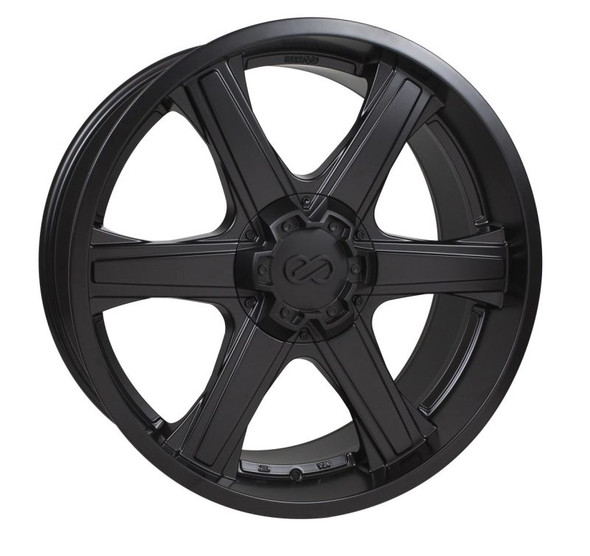 Enkei BHAWK 22x9.5 5x150 30mm Offset 110mm Bore Black Wheel