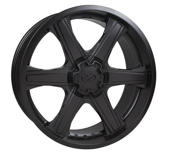 Enkei BHAWK 22x9.5 6x139.7 30mm Offset 78mm Bore Black Wheel