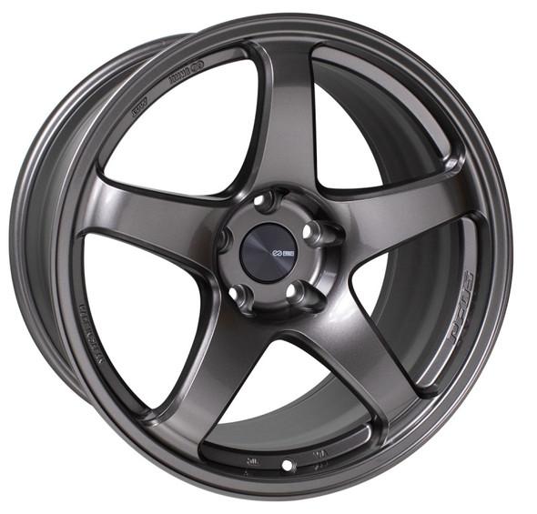 Enkei PF05 19x8 5x100 45mm Offset 75mm Bore Dark Silver Wheel