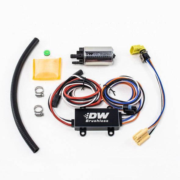 DeatschWerks DW440 440lph Brushless Fuel Pump w/ PWM Controller