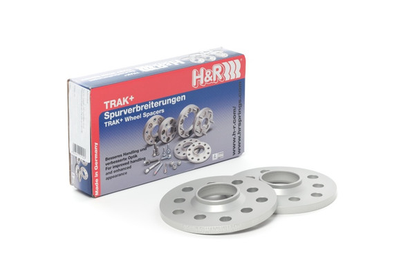 H&R Trak+ 20mm DR Spacer Bolt Pattern 5/108 CB 63.3mm Bolt Thread 14x1.5 - 17-19 Volvo XC60