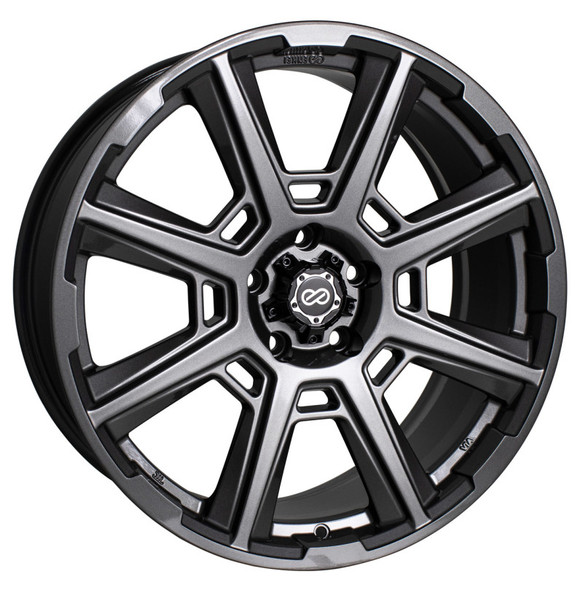 Enkei Storm 18x8 40mm Offset 5x108 72.6mm Bore Anthracite Wheel