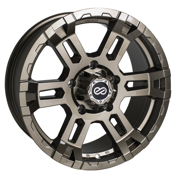 Enkei Commander 17x8 5mm Offset 6x139.7 Bolt Pattern 108 Bore Bronze Wheel