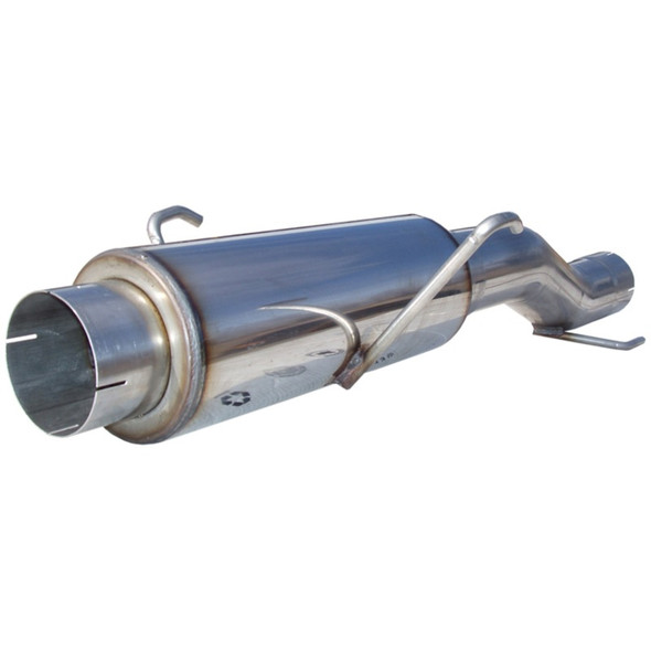 MBRP 2004.5-2005 Dodge Cummins 600/610 (fits to stock only) High-Flow Muffler Assembly T409