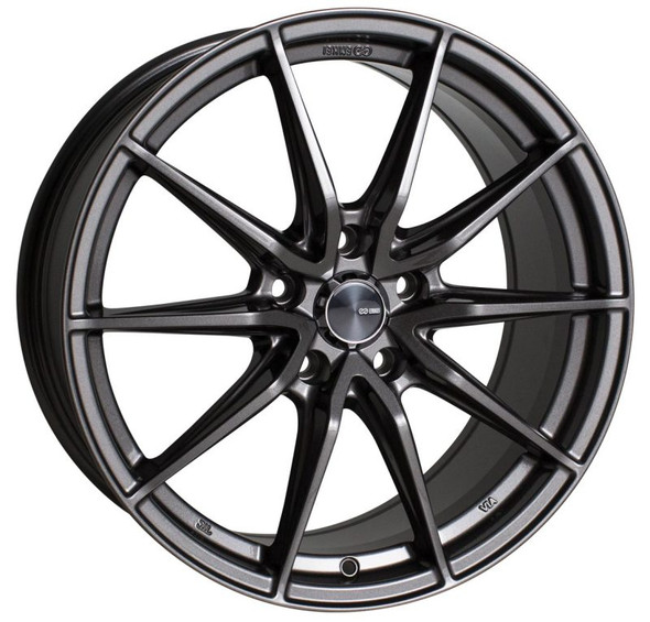 Enkei DRACO 18x8.0 5x120 35mm Offset 72.6mm Bore Anthracite Wheel