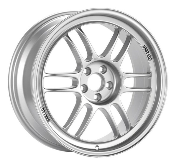 Enkei RPF1 14x7 4x100 28mm Offset 54mm Bore Silver Wheel