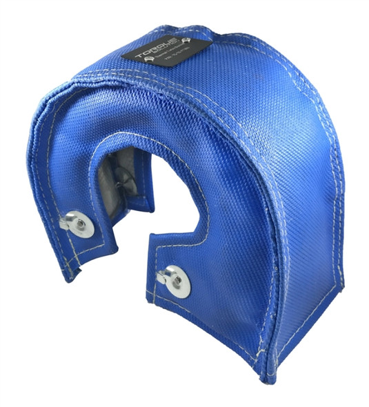 Torque Solution Thermal Blanket (Blue) Fits T3/T4/T25/T28 & GT25/28/30/32/35/37 Turbo Back Housings